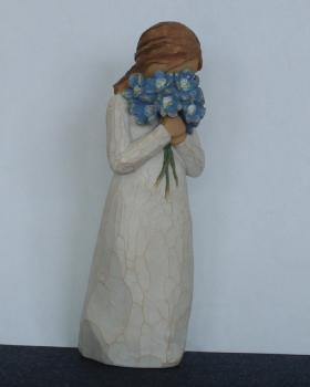 Forget me not - Willow Tree Figur von Susan Lordi